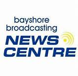 Logo for Bayshore Broadcasting News/Roads