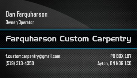 Farquharson Custom Carpentry