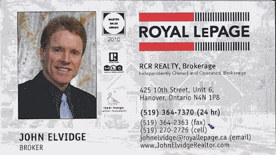 Royal LePage - John Elvidge (Broker)